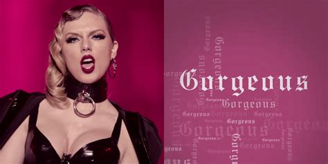 Taylor Swift: 'Gorgeous' Stream, Lyrics, & Download