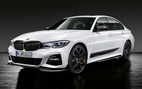 2019 BMW 3 Series with M Performance Parts - Wallpapers