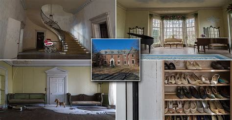 This Mansion Was Mysteriously Abandoned For More Than 40