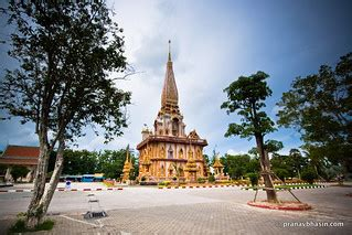 Wat Chalong, The Most Beautiful Temple in Phuket, Thailand