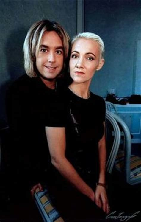 Per Gessle of Roxette and his wife Åsa Nordin out and
