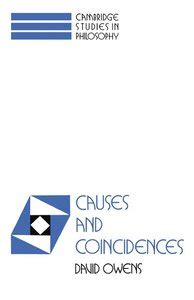 Causes and Coincidences - David Owens - Bok (9780521416504