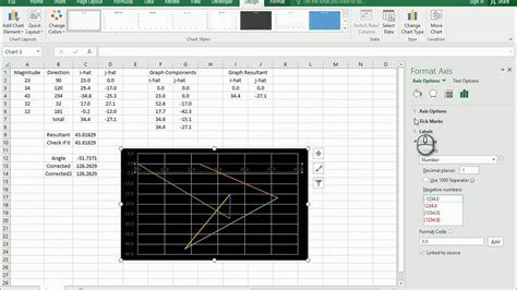 Creating Your Vectors Graph - YouTube