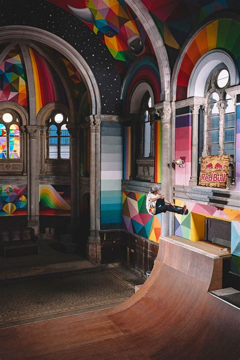 A 100-Year-Old Church in Spain Transformed into a Skate