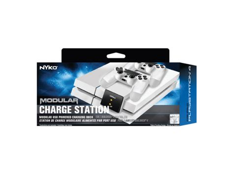 Modular Charge Station (White) for PlayStation®4 – Nyko