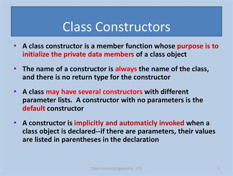 C++ Classes How to Create and Use Them (Constructor