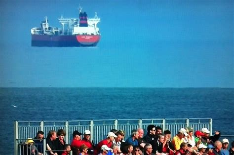 Why Was There A Ship Floating In Mid-Air At A Golf Tournament?