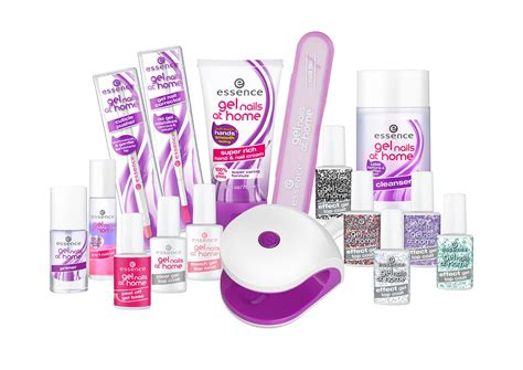 NEW! Essence Gel Nails At Home Kit: Glossy, Long Lasting