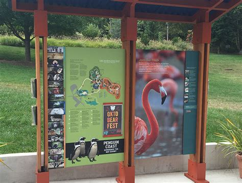 Maryland Zoo Wayfinding System - Gecko Group - Gecko Group