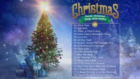 Classic Christmas Songs Of All Time - 1 Hours of Christmas