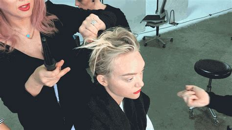 How To: Get Gemma Ward's Softly Tousled Bun On The Cover