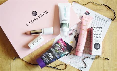 GLOSSYBOX MARCH 2018 BOX - A Life With Frills