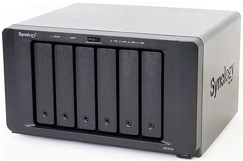 Synology DS1618+ Review A Powerful 6-Bay SMB and ROBO NAS