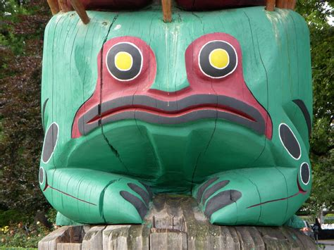 Totems, Totem poles and Google on Pinterest