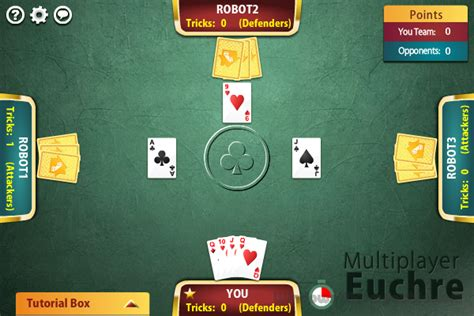 Multiplayer Euchre 1