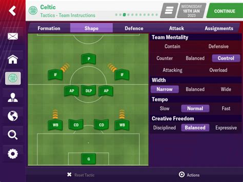 4-3-2-1 EME Winning Tactic - Football Manager 2019 Mobile