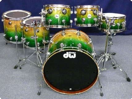 Dw DW Collector's Maple Mahogany Exotic Shellset 2012 Drum