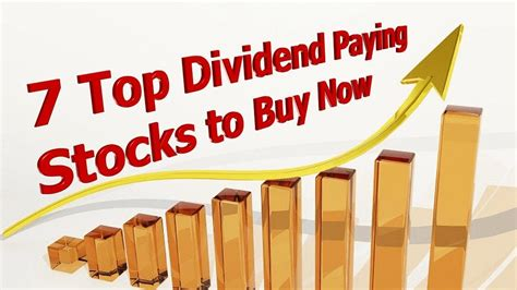 7 Top Dividend Paying Stocks to Buy Now - DividendInvestor