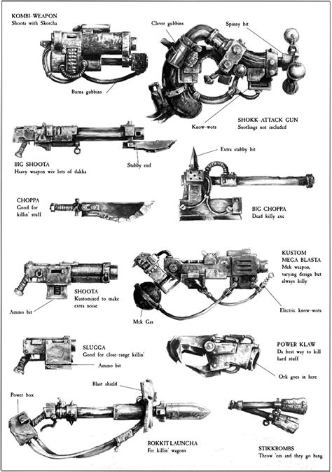 Orks - Warhammer 40K Wiki - Space Marines, Chaos, planets