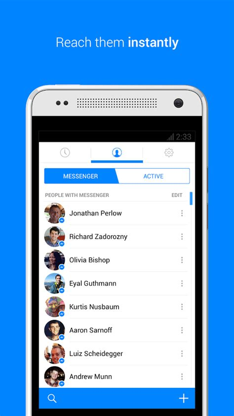 Messenger na Android - Download