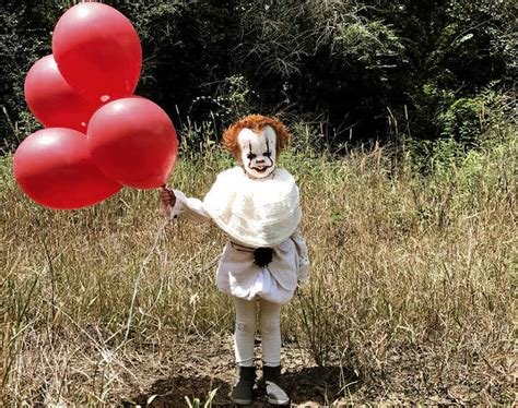 Teen Dresses Little Brother as 'It' Clown and It Is