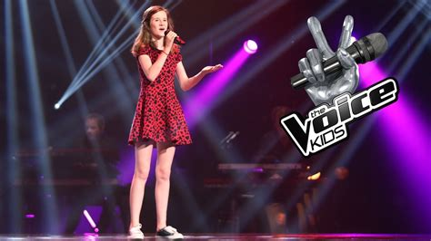 Noa – When We Were Young | The Voice Kids 2017 | The Blind