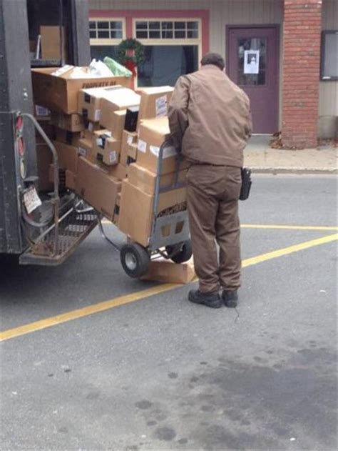 Delivery Guys Just Trying To Get Through The Holiday
