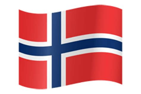 Norway flag vector - country flags