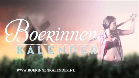 Boerinnen Kalender 2015 | Sneak Preview | Photoshoot Dag 2