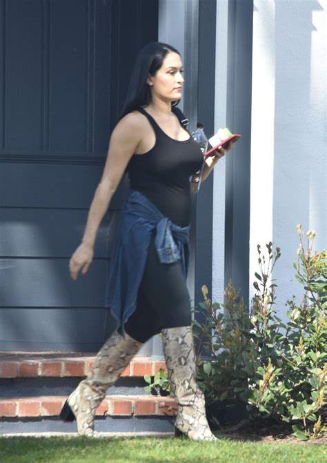 Pregnant NIKKI BELLA Out in Brentwood 02/29/2020 – HawtCelebs