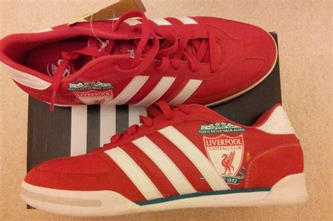 World's only Liverpool FC Adidas Samba trainers listed on
