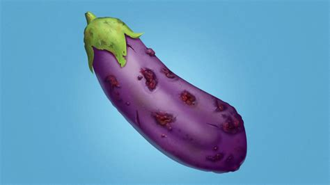 Apple Introduces Eggplant Emoji Covered In Sores