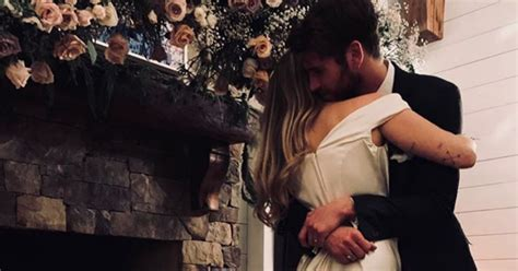 Miley Cyrus' Wedding Dress: All The Pics We Have So Far