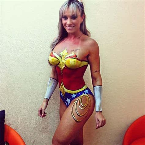 This Super Sexy Collection of Super Hero Body Paint