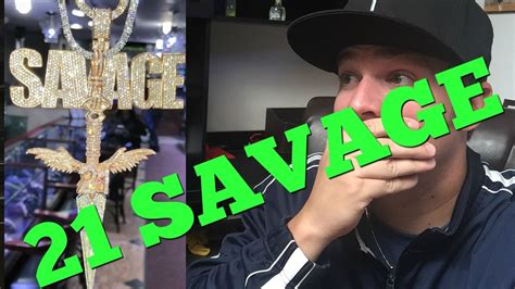 21 SAVAGE Jewelry Review - YouTube