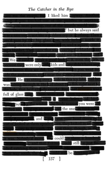blackout poetry on Tumblr