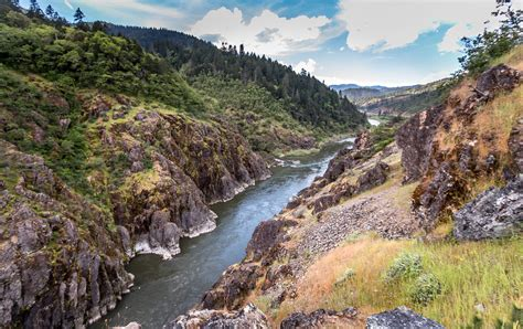 Hellgate Canyon Viewpoint on the Rogue River | View from