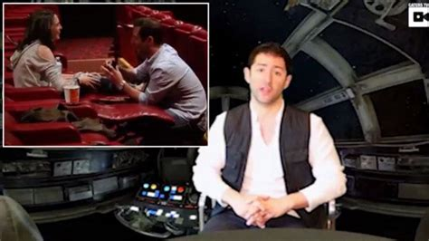 'Star Wars' Fan Proposes to Girlfriend in Movie Theater to