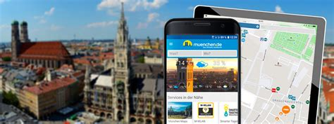 München App für iPhone, iPad and Android