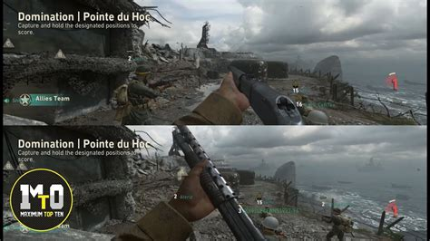 CALL OF DUTY WWII - COD ONLINE MULTIPLAYER SPLIT SCREEN