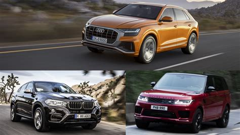 Which Is Better: The Audi Q8, The BMW X6, Or The Range