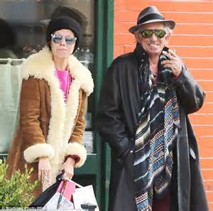 Rolling Stones' Keith Richards, 71 goes to lunch with