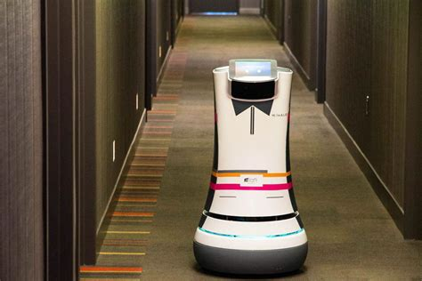 Robot Butlers Roll Into Action at Starwood Hotels - NBC News