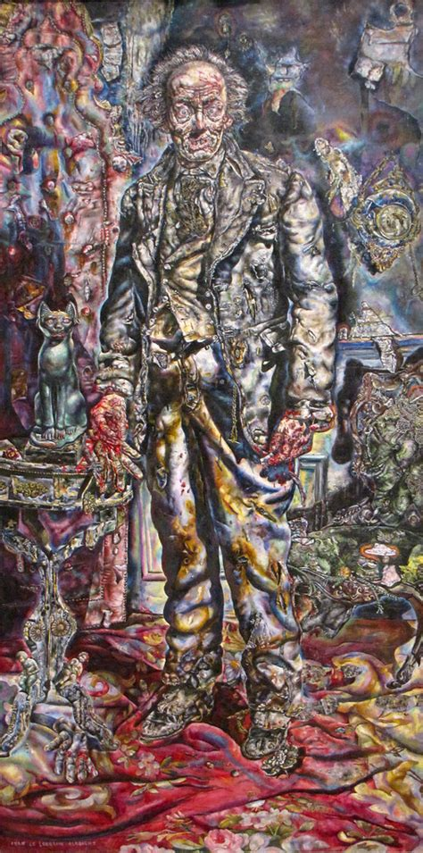 """""""Picture of Dorian Gray"""" by Ivan Albright 