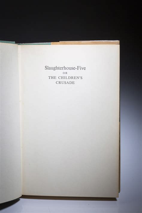 Slaughterhouse-Five - or The Children's Crusade