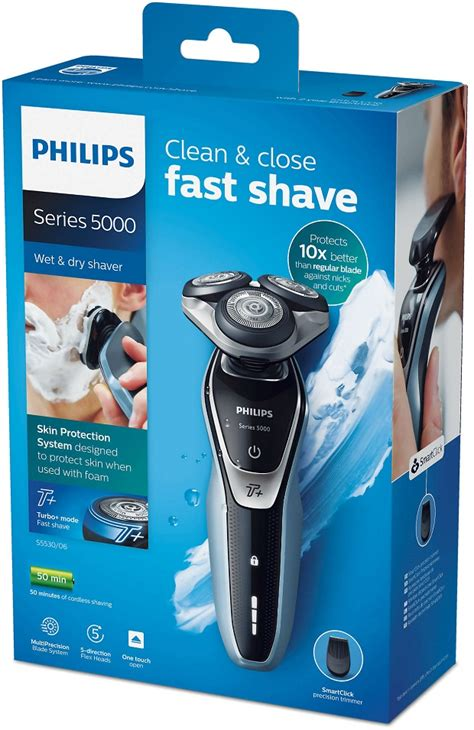 Philips Series 5000 shaver Review - Turbo Plus Mode - S5530/06