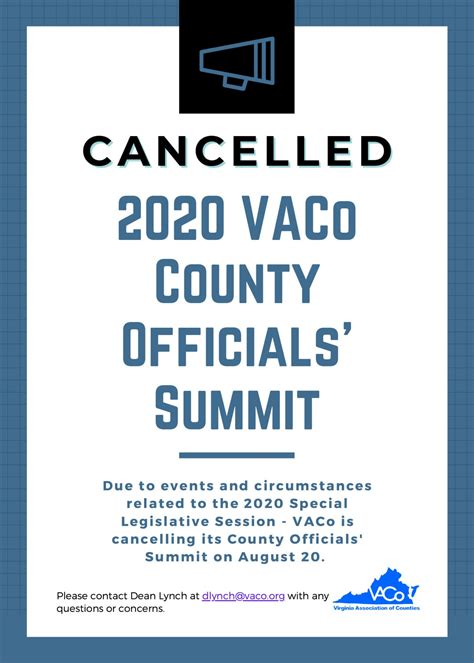 County Officials' Summit - Virginia Association of Counties