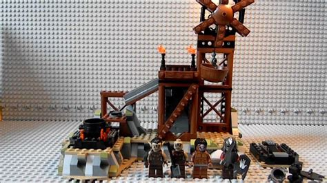 Lego Lord of the Rings (LOTR) 9476 Orc Forge Review - YouTube