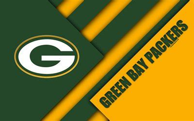 Download wallpapers Green Bay Packers, 4k, logo, NFC North