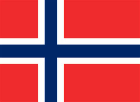 Flag of Norway image and meaning Norwegian flag - country